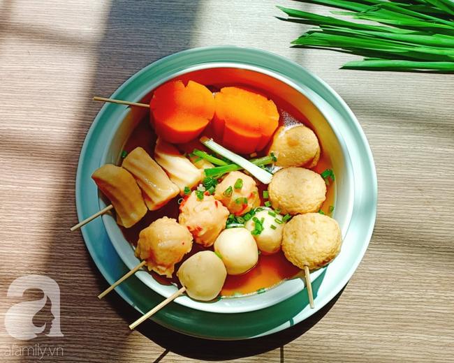 Học người Hàn cách nấu canh chả cá vừa ngon vừa đẹp đổi món cho cả nhà - Ảnh 9.