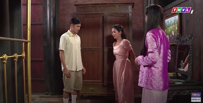 """""""Luật trời"""": Cảnh ngọt cực phẩm đã đến, cậu chủ đẹp trai đỏ mặt ôm cô hầu xinh đẹp Bích (Quỳnh Lam) - Ảnh 6."""