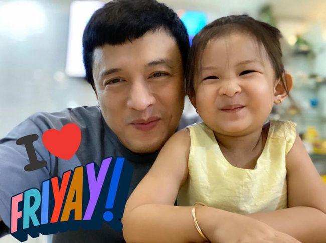 Lam Trường thích thú vì con gái càng lớn càng giống bố.