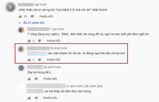 Vừa ăn cua chiên xù trong vlog mới vừa tiết lộ bé Sa bị sốt tận 39 độ, còn co giật tới mức cắn vào tay mẹ, Quỳnh Trần JP khiến bao fan khóc vì thương Sa - Ảnh 7.