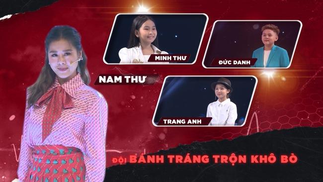 """Nam Thư phản ứng khi bài hát """"Mắt Biếc"""" được thể hiện trong show âm nhạc nhí - Ảnh 3."""