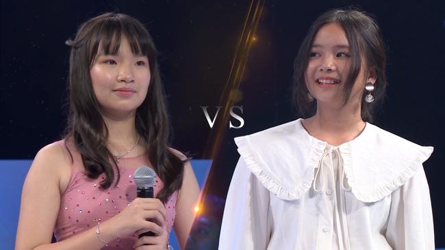 """Nam Thư phản ứng khi bài hát """"Mắt Biếc"""" được thể hiện trong show âm nhạc nhí - Ảnh 4."""