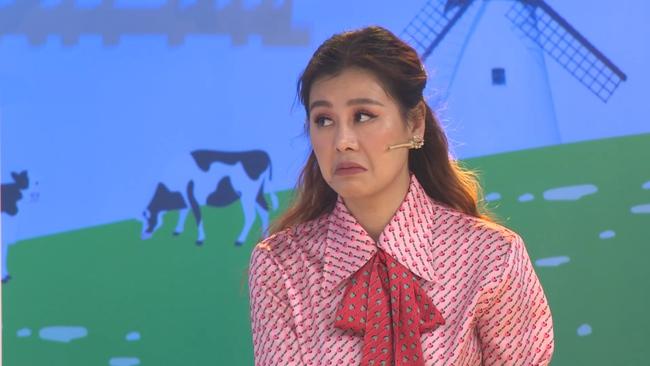 """Nam Thư phản ứng khi bài hát """"Mắt Biếc"""" được thể hiện trong show âm nhạc nhí - Ảnh 6."""