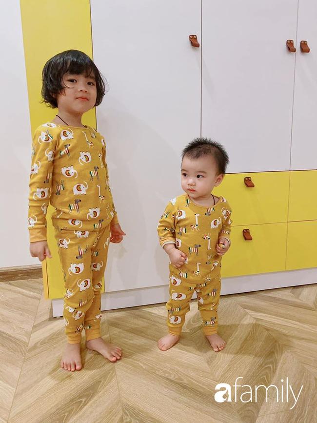 """Ngắm phòng ngủ tông vàng của mẹ đảm tại Hà Nội thực hiện cho hai công chúa nhỏ, các bậc phụ huynh tấm tắc ngợi khen """"đơn giản vẫn đúng là đỉnh cao"""" - Ảnh 8."""