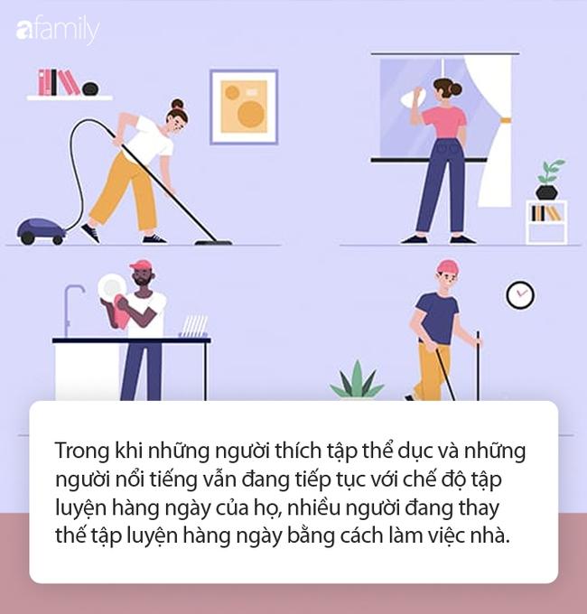 Cách ly xã hội đang gây ảnh hưởng sức khỏe thể chất: Cứ làm đều đặn những công việc nhà này thì chẳng có gì bạn phải bận tâm! - Ảnh 1.