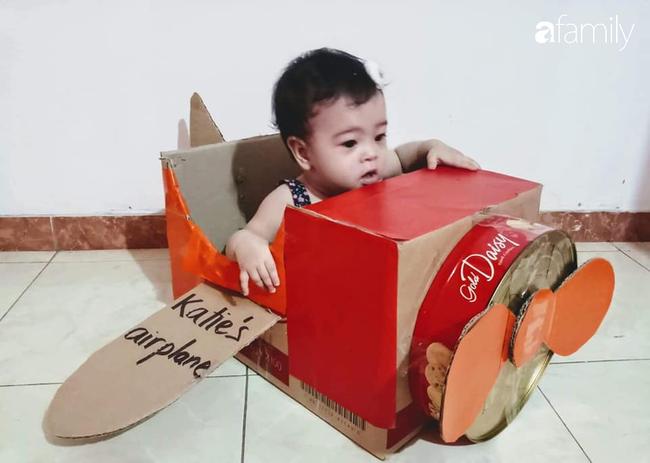 Mẹ Việt tại Úc tự chế đồ chơi cho con, vừa học vừa vui mẹ thì nhàn tênh - Ảnh 2.