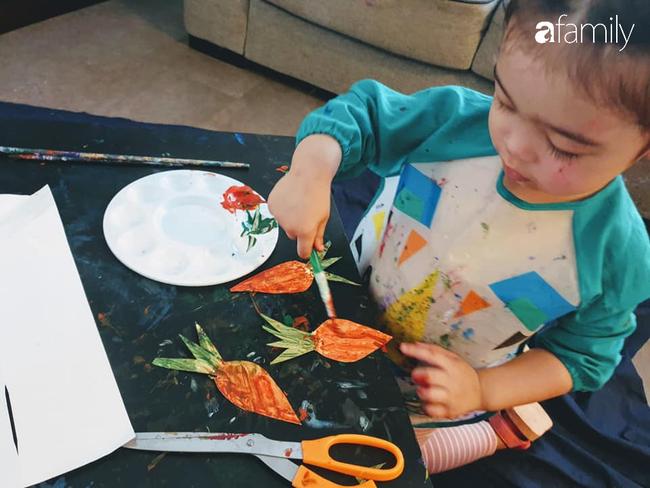 Mẹ Việt tại Úc tự chế đồ chơi cho con, vừa học vừa vui mẹ thì nhàn tênh - Ảnh 3.