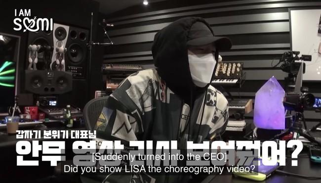 """Lisa đâu chỉ làm HLV cho """"Thanh xuân có bạn 2"""", màn comeback sắp tới của Somi cũng do """"em út"""" BLACKPINK làm cố vấn - Ảnh 4."""