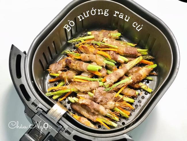 Học mẹ 8x cách làm 10 món thịt nướng thơm ngon và dễ làm bằng nồi chiên không dầu  - Ảnh 2.
