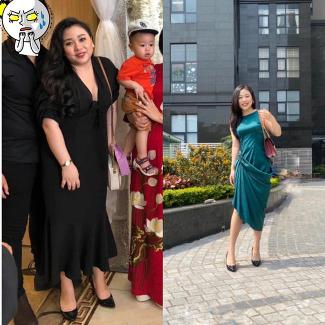 """Cô em họ Hoa hậu Mai Phương Thuý """"lột xác"""" sau khi giảm 25 kg, không ai ngờ mẹ bỉm sữa ngày nào lại có thân hình gợi cảm đến vậy - Ảnh 3."""