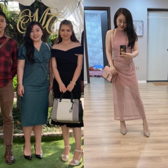 """Cô em họ Hoa hậu Mai Phương Thuý """"lột xác"""" sau khi giảm 25 kg, không ai ngờ mẹ bỉm sữa ngày nào lại có thân hình gợi cảm đến vậy - Ảnh 2."""