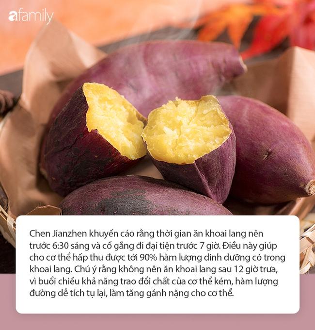 """Đừng ăn khoai lang vào buổi trưa nếu không muốn tạo thêm gánh nặng cho cơ thể, chuyên gia dinh dưỡng Đài Loan chỉ ra thời gian """"vàng"""" giúp cơ thể tránh được ung thư, bệnh tật - Ảnh 5."""