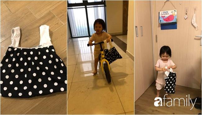 """Ở nhà tránh dịch, mẹ Hà Nội thiết kế hàng chục hoạt động thú vị mà chỉ tốn """"0 đồng"""" cho 2 con chơi say mê ngày này qua ngày khác - Ảnh 9."""