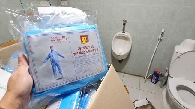 Hà Nội: Phát hiện cơ sở sản xuất vật tư y tế có dấu hiệu gian lận - Ảnh 7.