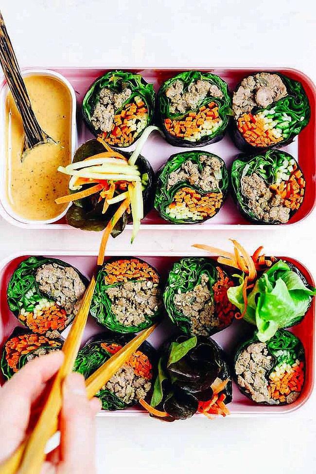 """Cách làm """"gimbap không cơm"""" gây bão cộng đồng ăn kiêng Hàn Quốc  - Ảnh 12."""