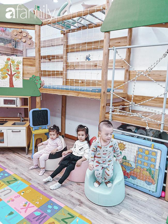 Căn phòng vui chơi của 3 nhóc tỳ ở Hà Nội khiến các mẹ bỉm sữa mê mẩn, các con nghỉ dịch ở nhà cũng là chuyện nhỏ - Ảnh 5.