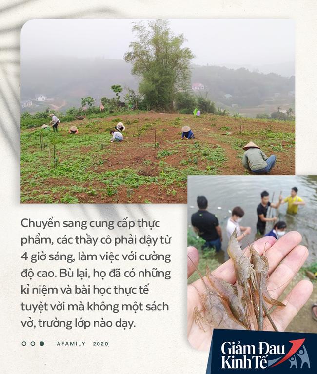 """Chống Covid-19, ngôi trường cách Hà Nội 40km biến thành trang trại thực phẩm sạch; giáo viên tự bắt cá, làm shipper, chốt đơn """"nhà nghề"""" - Ảnh 5."""