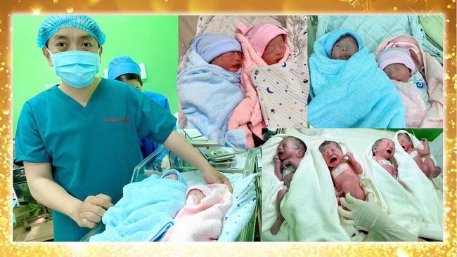Vô sinh 3 năm, bị khối u tuyến giáp, mẹ bầu Sài Gòn 29 tuổi sinh 4 thành công tại bệnh viện Từ Dũ - Ảnh 3.