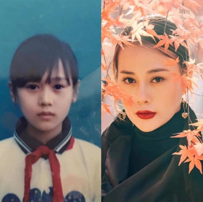 Nhìn ảnh ngày xưa của Phương Oanh mà ai cũng phải thốt lên: Đúng là búp bê từ khi còn bé - Ảnh 2.