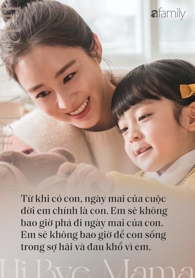 """Rơi nước mắt trước những câu thoại đầy xúc động  về tình mẫu tử trong phim """"Hi Bye, Mama"""" của Kim Tae Hee - Ảnh 8."""