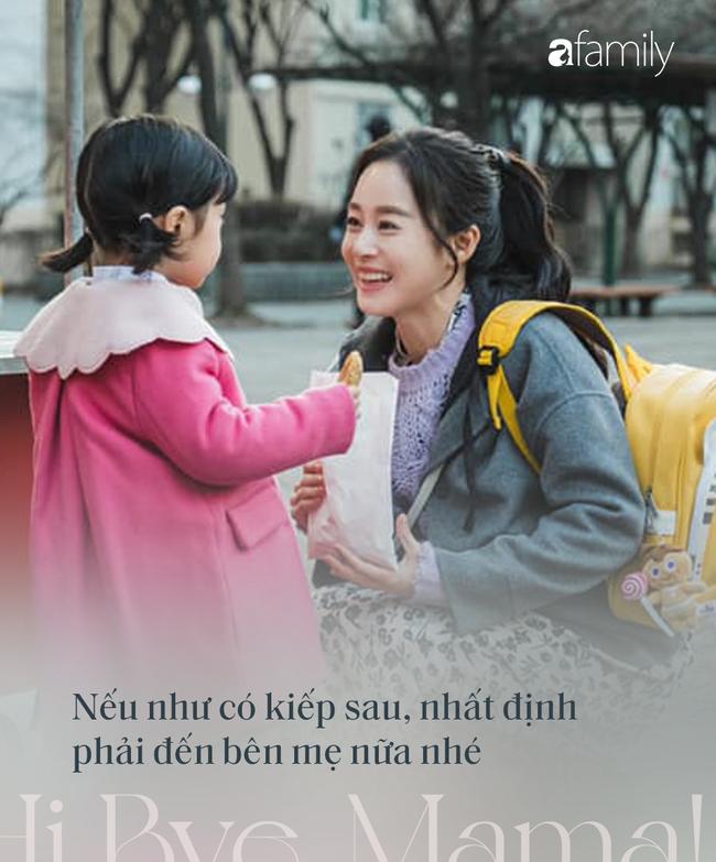 """Rơi nước mắt trước những câu thoại đầy xúc động  về tình mẫu tử trong phim """"Hi Bye, Mama"""" của Kim Tae Hee - Ảnh 10."""