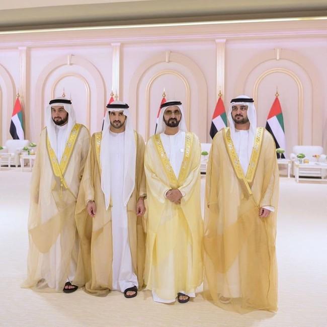 Thái tử đẹp nhất Dubai khiến nhiều thiếu nữ tan giấc mộng vì đã kết hôn, cô gái may mắn nhất có thân thế bất ngờ - Ảnh 3.
