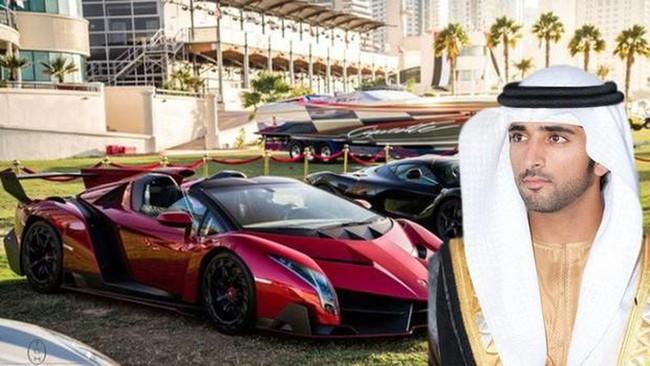 Thái tử đẹp nhất Dubai khiến nhiều thiếu nữ tan giấc mộng vì đã kết hôn, cô gái may mắn nhất có thân thế bất ngờ - Ảnh 1.