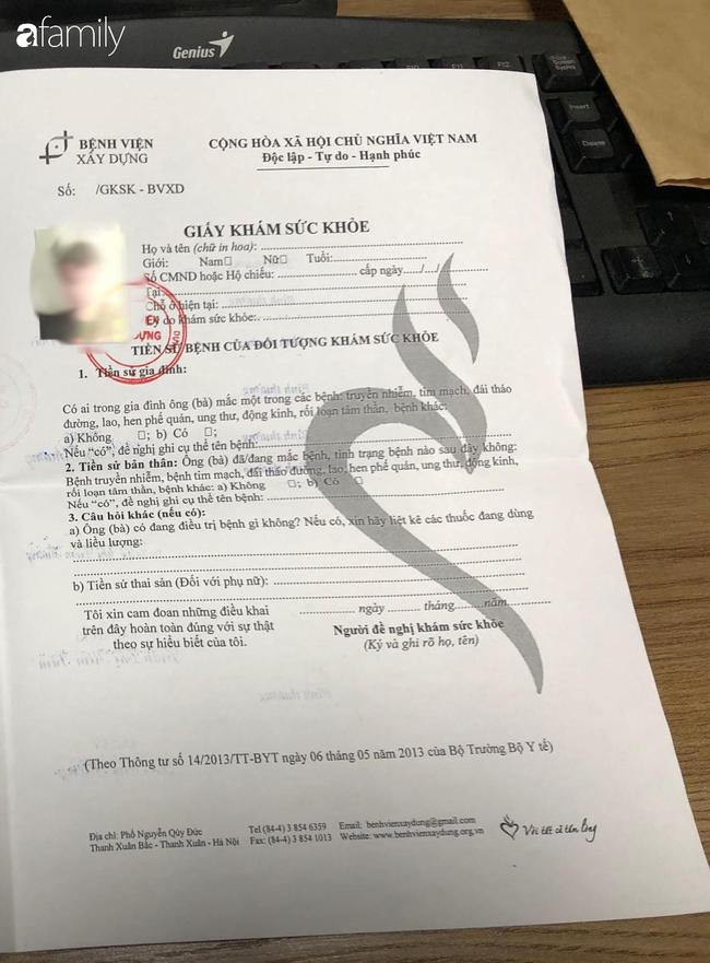 """Chuyện về mua bán giấy khám sức khoẻ mùa dịch Covid-19: Người bán cam kết """"hàng chuẩn"""" của bệnh viện, bác sĩ khẳng định chữ ký xác nhận không phải của mình - Ảnh 4."""