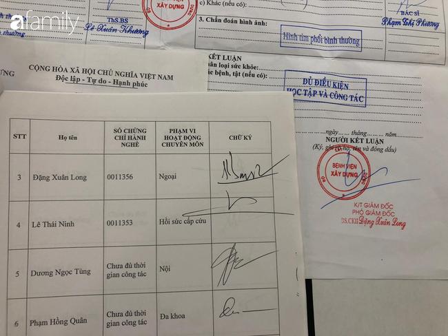 """Chuyện về mua bán giấy khám sức khoẻ mùa dịch Covid-19: Người bán cam kết """"hàng chuẩn"""" của bệnh viện, bác sĩ khẳng định chữ ký xác nhận không phải của mình - Ảnh 5."""
