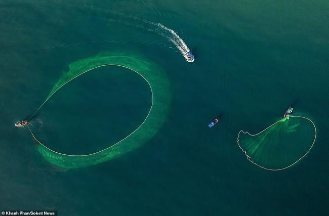 Cảnh người dân tung lưới đánh cá ở Phú Yên đầy mê hoặc được báo nước ngoài chia sẻ và ca ngợi hết lời - Ảnh 5.