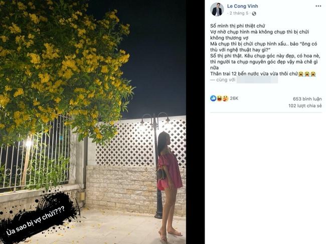 Khi các ông chồng showbiz cầm máy chụp ảnh cho vợ: Công Vinh bị Thủy Tiên mắng đến tội, sản phẩm của ông xã Lan Khuê thế nào mà được vợ khen? - Ảnh 3.