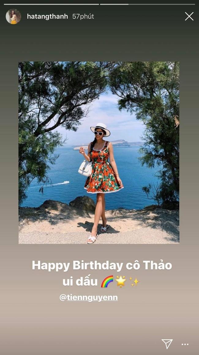 Tăng Thanh Hà có động thái này trong ngày sinh nhật em chồng Tiên Nguyễn nhưng cách xưng hô lại rất đặc biệt - Ảnh 2.