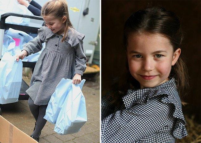 Hôm nay Công chúa Charlotte tròn 5 tuổi, xuất hiện trong bộ ảnh độc đáo và ý nghĩa chưa từng thấy trước đây - Ảnh 2.