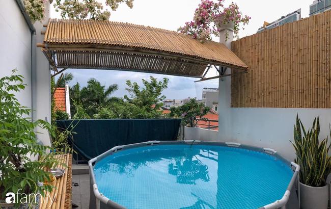 Giữa Sài Gòn náo nhiệt, vẫn có căn nhà ống 20m2 với 4 tầng lầu cực chill và không gian xanh mát chỉ với 20 triệu mua cây xanh - Ảnh 12.