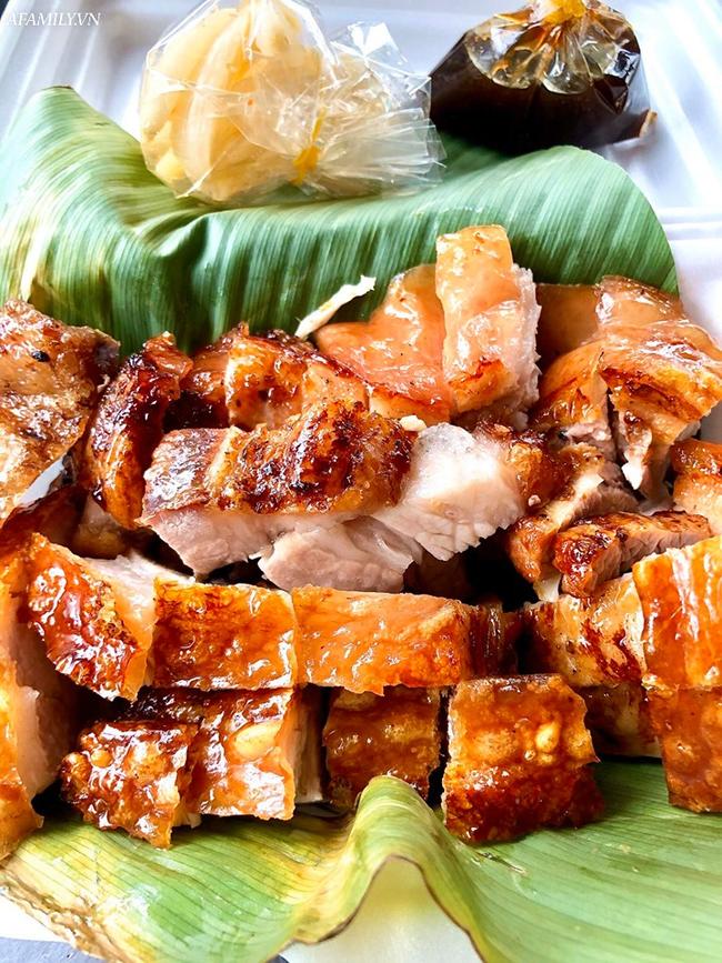 Giá thịt lợn lên cao khiến thịt quay cũng cán mốc 350 ngàn đồng/kg: Tiểu thương chấp nhận bán không lãi nhưng khách ăn vẫn giảm một nửa - Ảnh 6.