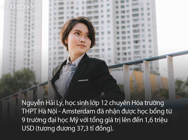 Nữ sinh chuyên Hóa Hà Nội- Amsterdam giành học bổng từ 9 trường đại học Mỹ, có trường hỗ trợ lên tới hơn 7 tỷ đồng - Ảnh 1.