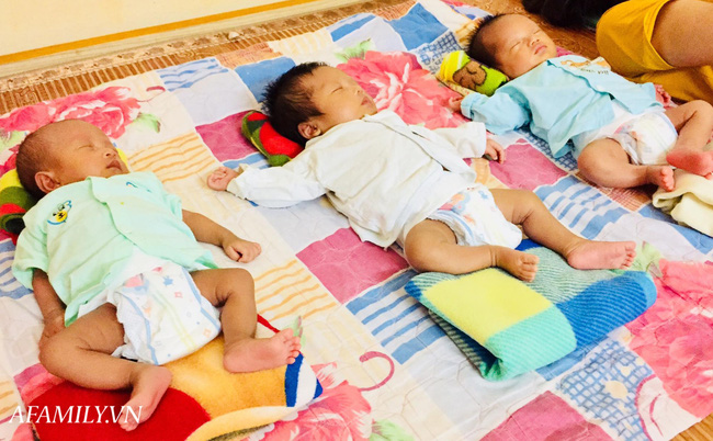 Nhà có gen sinh đôi nhưng mẹ Thanh Hoá vẫn bất ngờ khi biết mình mang thai ba, cả thai kỳ luôn sống trong cảm giác lo lắng - Ảnh 5.