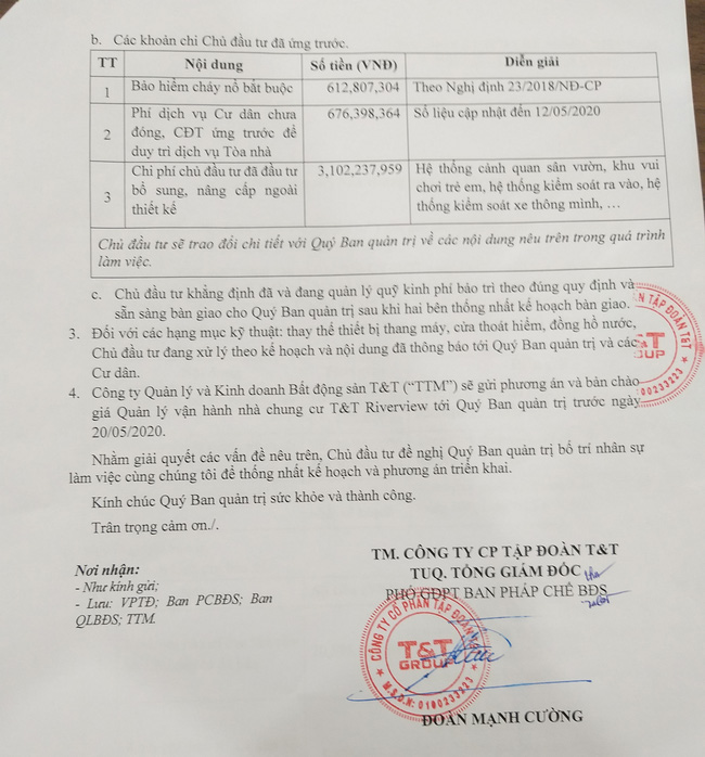 Hà Nội: Cư dân bức xúc đề nghị chủ đầu tư bàn giao quỹ bảo trì, thay tháng máy - Ảnh 8.