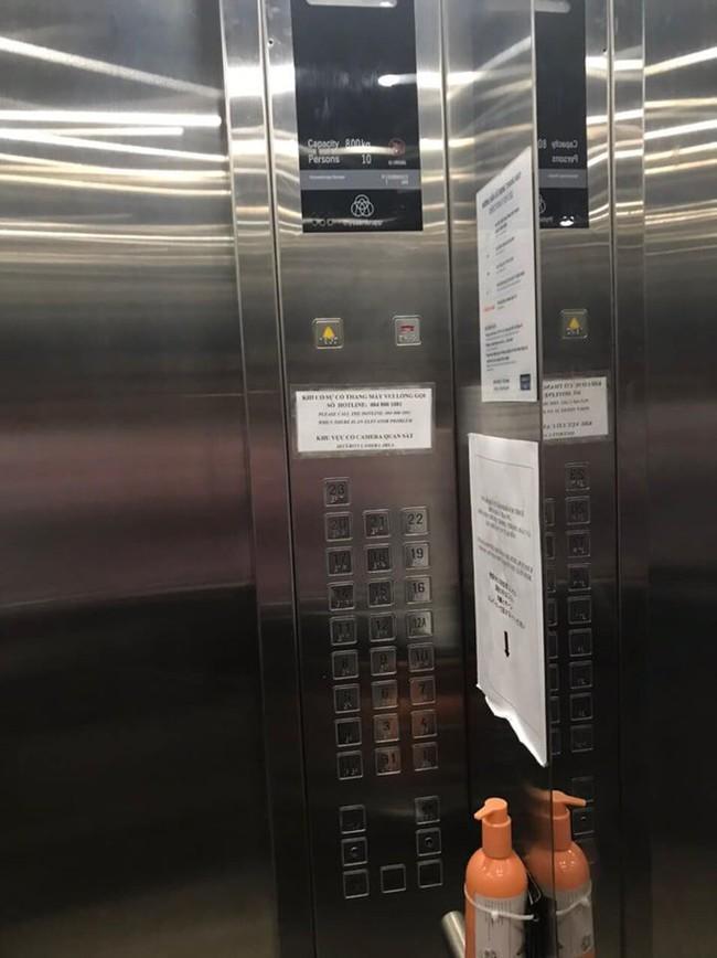 Cư dân phản ánh tình trạng thang máy mất điện tụt xuống tầng dưới (sự việc xảy ra hôm 21/5)