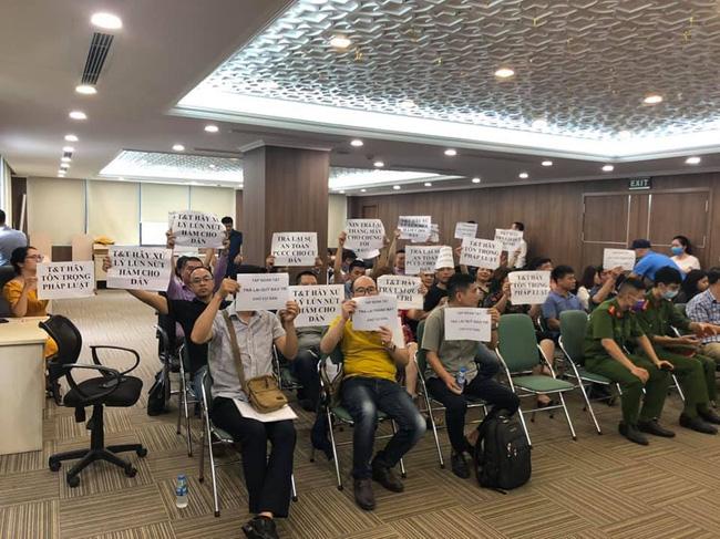 Hà Nội: Cư dân bức xúc đề nghị chủ đầu tư bàn giao quỹ bảo trì, thay tháng máy - Ảnh 3.