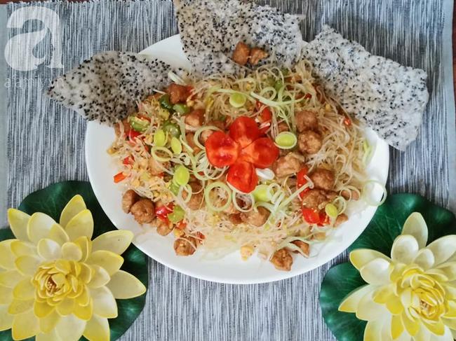 Mùng 1 thưởng thức món chay mới toanh từ Food Blogger Liên Ròm chia sẻ - Ảnh 8.