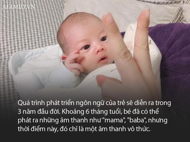 Biết gọi mẹ trước tháng tuổi này, em bé lớn lên sẽ rất thông minh - Ảnh 2.