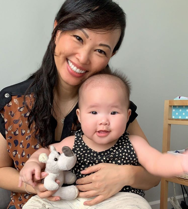 Cuối tuần của các hot mom: Bà mẹ 4 con Trang Moon khoe ảnh hồi bé tí xíu, Meo Meo sang chảnh đi du lịch cùng chồng - Ảnh 13.