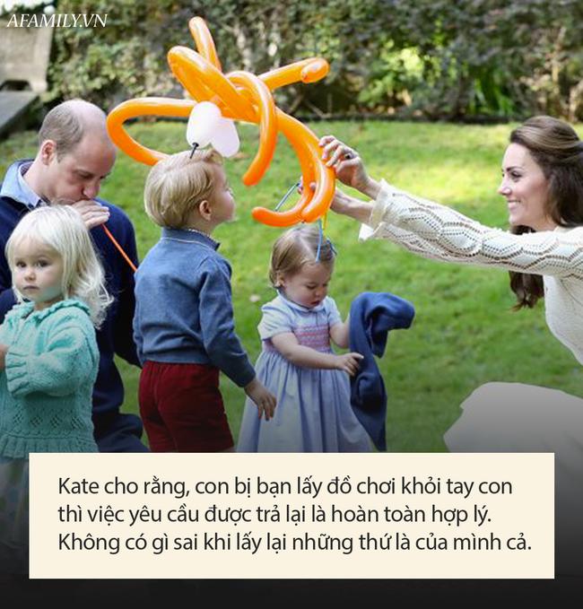 Hé lộ bí quyết nuôi dạy con hoàng gia của Công nương Kate Middleton, bố mẹ nào cũng ước giá như mình biết được sớm hơn - Ảnh 3.