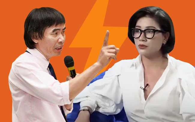 Trang Trần lên tiếng sau khi bị mắng vì vỗ mặt TS. Lê Thẩm Dương: Ai bảo tôi láo cũng được, dân mạng không có nuôi tôi  - Ảnh 2.