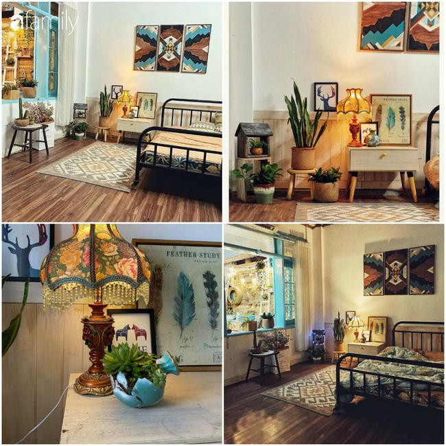 2 tháng nghỉ dịch Covid - 19, mẹ đảm 3 con Nghệ An đã cải tạo sân thượng thành Homestay theo phong cách Vintage tuyệt đẹp chỉ với 20 triệu - Ảnh 13.