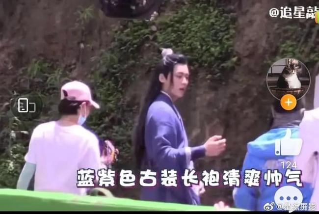 """Lý Dịch Phong tái xuất, lộ hậu trường đóng phim cổ trang với mỹ nữ """"Hương mật tựa khói sương""""  - Ảnh 4."""