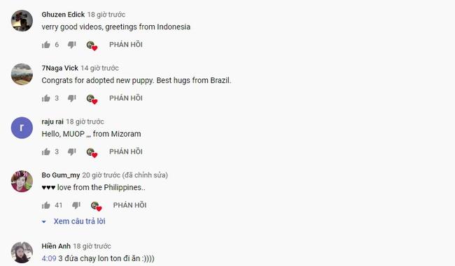 """Không còn chỉ phủ sóng trong nước, kênh Youtube Ẩm thực mẹ làm nay còn hút fan quốc tế với hàng loạt bình luận """"cưng"""" hết sức - Ảnh 4."""