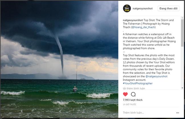 """Bức ảnh """"Ông già và biển cả"""" phiên bản Việt lọt top 1 ảnh về câu chuyện đại dương do National Geographic bình chọn - Ảnh 1."""