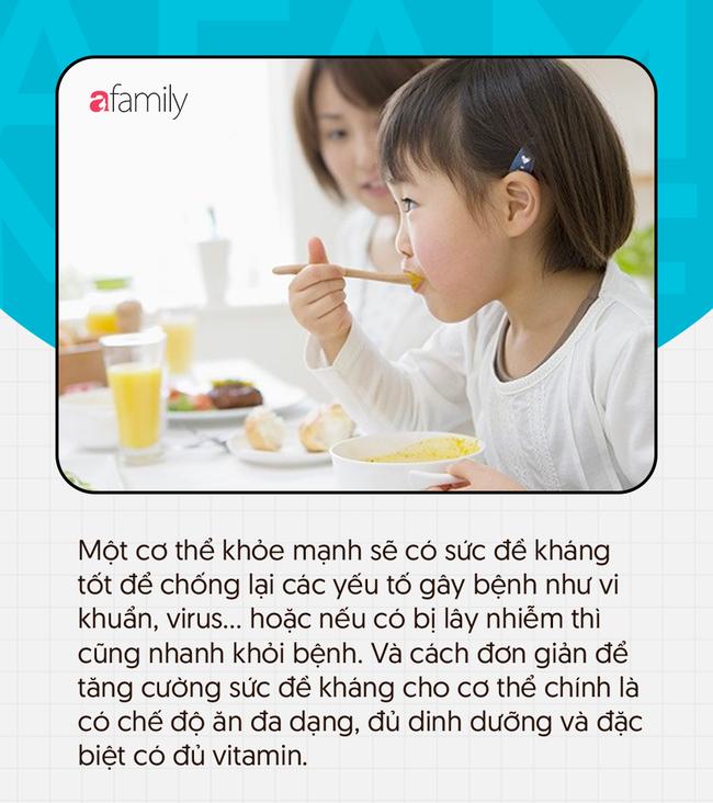 Lắng nghe khuyến cáo dinh dưỡng từ chuyên gia để giúp con nâng cao đề kháng khi trở lại trường học - Ảnh 1.